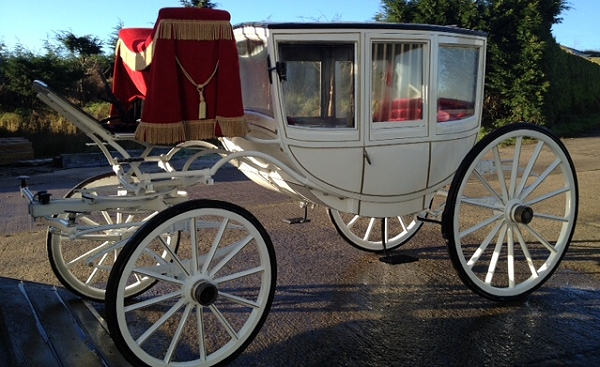 George Fawcett Carriages - Wedding carriage